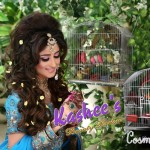 Bridal Mehndi and Hairstyling By Kashee's - Beaded Bridal Hairstyle