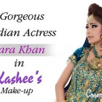 Bridal Mehndi and Hairstyling By Kashee's - Bridal Bang Hairstyle