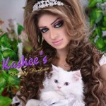Bridal Mehndi and Hairstyling By Kashee's - Tiara Bridal Hairstyle