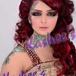 Bridal Mehndi and Hairstyling By Kashee's - Curly Bridal Hairstyle