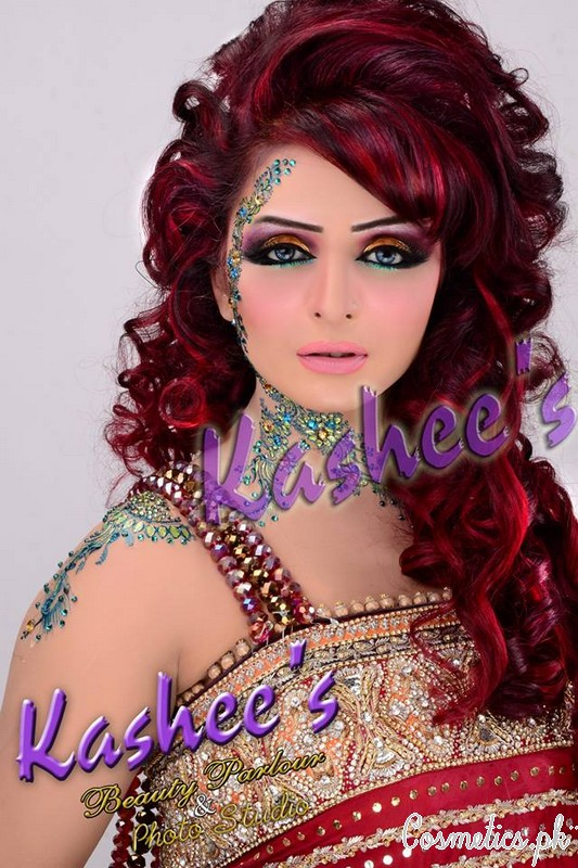 Kashee S Mehndi Hairstyles : Bridal hairstyle by kashee s beauty parlour