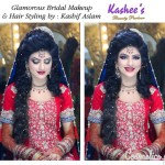 Bridal Mehndi and Hairstyling By Kashee's - Long Braided