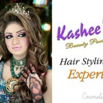 Bridal Mehndi and Hairstyling By Kashee's - Tiara Wedding Hairstyle
