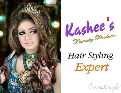 Bridal Hairstyling By Kashee's Beauty Parlour 2015- Tiara