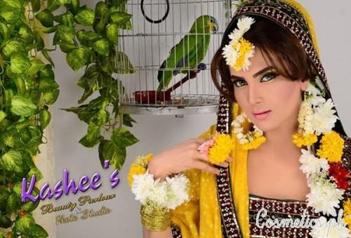 Mehndi Makeup Bridal : Latest bridal makeup by kashee s beauty parlour mehndi