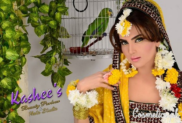 Mehndi Makeup Eyes : Latest bridal makeup by kashee s beauty parlour