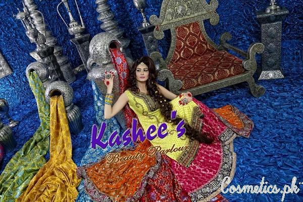 Kashee S Mehndi Makeup : Latest bridal makeup by kashee s beauty parlour mehndi