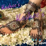Bridal Mehndi and Hairstyling By Kashee's - Studed Stone Mehndi