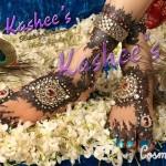 Bridal Mehndi and Hairstyling By Kashee's - Studed Stone Mehndi