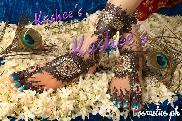 Latest Bridal Mehndi By Kashee's – Studed Stone Mehndi