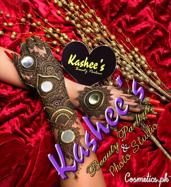 Bridal Mehndi and Hairstyling By Kashee's - Fancy Hand Mehndi