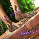 Bridal Mehndi and Hairstyling By Kashee's - Feet Mehndi