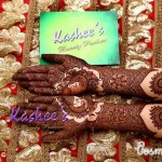Bridal Mehndi and Hairstyling By Kashee's - Balck Uroos Mehndi