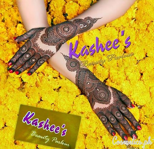 Bridal Mehndi and Hairstyling By Kashee's - Uroos Hand Mehndi
