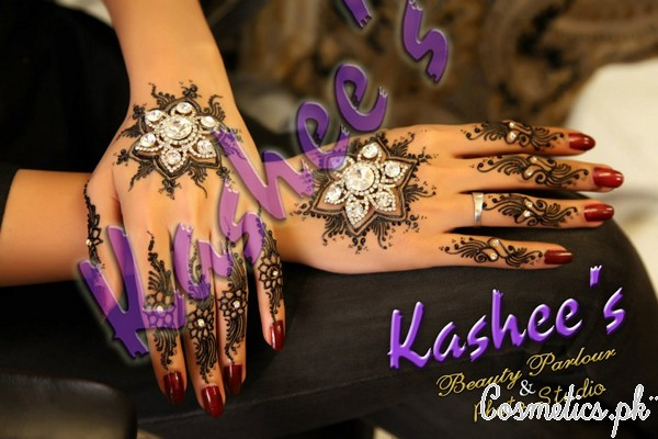 Latest Bridal Mehndi By Kashee's Beauty Parlour 2015 – Fancy Mehndi