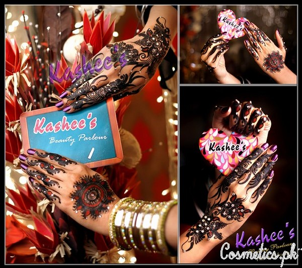 Bridal Mehndi and Hairstyling By Kashee's - Mehndi Designs