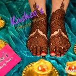 Bridal Mehndi and Hairstyling By Kashee's - Dulhan Feet Mehndi