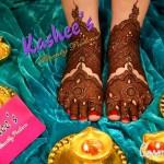 Bridal Mehndi and Hairstyling By Kashee's - Dulhan Feet Mehndi