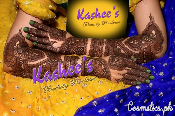 Bridal Mehndi Rates In Karachi : Latest bridal mehndi and hairstyling by kashee s