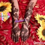 Bridal Mehndi and Hairstyling By Kashee's - Black Bridal Mehndi