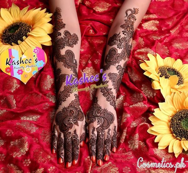 Latest Bridal Mehndi By Kashee's – Black Bridal Mehndi