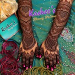 Bridal Mehndi and Hairstyling By Kashee's - Hand Uroos Mehndi