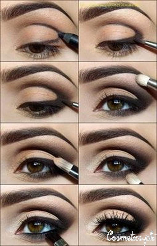 Smokey Brown Cut Crease Eye Makeup Video Tutorial Cover Picture