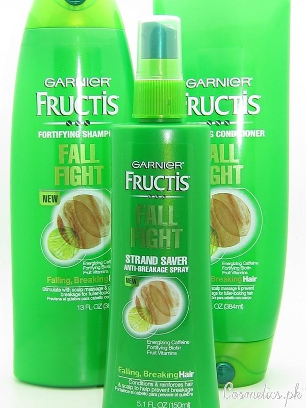 Top 5 Anti Hair Fall Shampoos In Pakistan - Garnier Fructis Fall Fight Fortifying Shampoo