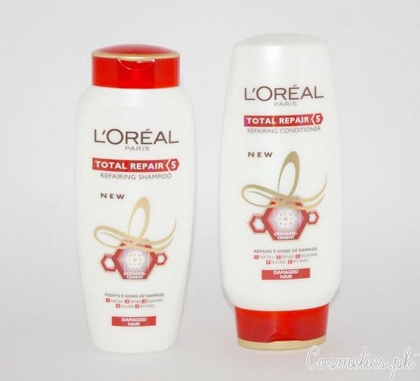 Top 5 Anti Hair Fall Shampoos In Pakistan - L'Oreal Total Repair Five Shampoo