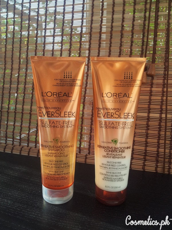 Top 5 Hair Straightening Shampoo And Conditioner - L'Oreal EverSleek Sulfate Free Smoothing Shampoo