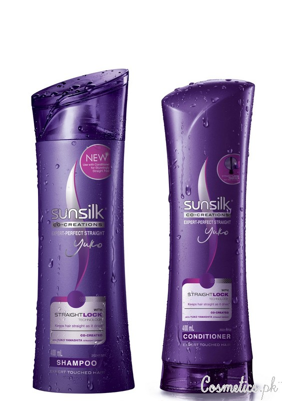 Hair Straightening Shampoo And Conditioner - Sunsilk Hair Straight Lock Shampoo