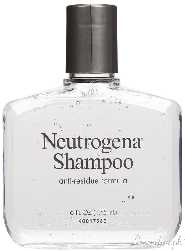 Top 5 Shampoos For Oily Hair - Neutrogena Anti-Residue Shampoo