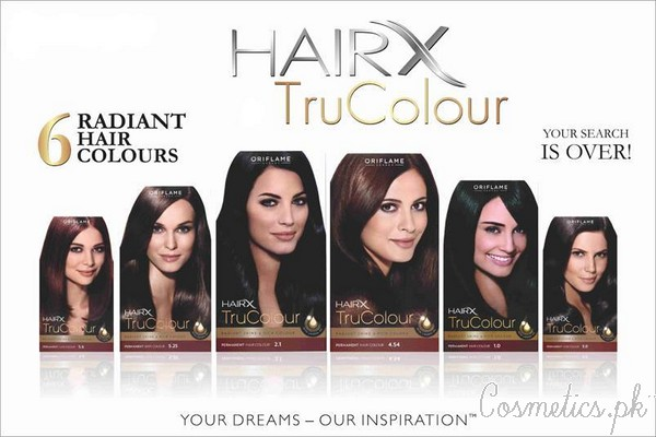 5 Oriflame Products You Should Try For Spring - HairX Tru Colour