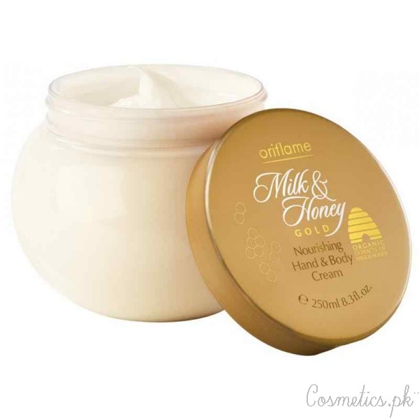 5 Oriflame Products You Should Try For Spring - Milk and Honey Gold Nourishing Hand and Body Cream