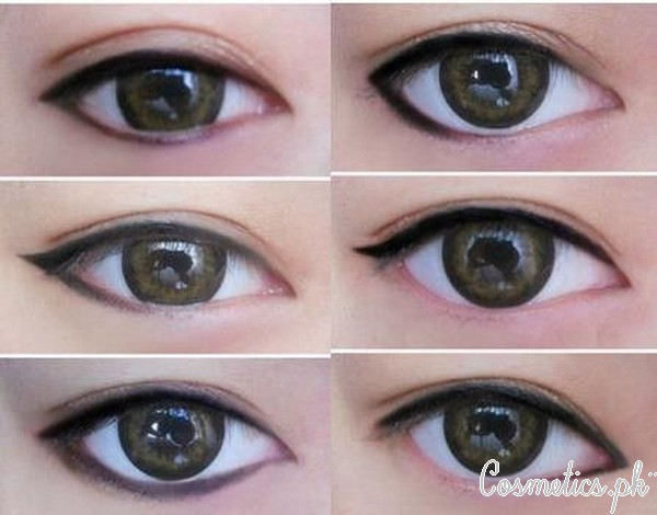 How To Apply Bridal Eye Makeup Correctly - Applying Kajal and Eye Liner