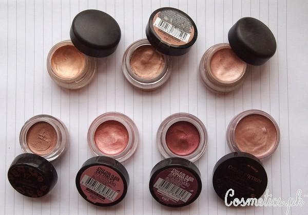 How To Apply Bridal Eye Makeup Correctly - Selection Of Eyeshadow
