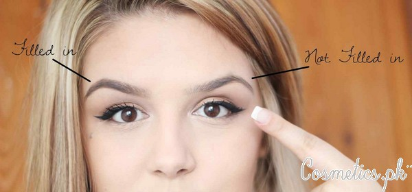 How To Fill Eyebrows Perfectly - Video Tutorial