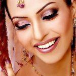 Latest Indian Bridal Eye Makeup 2015 - Brown