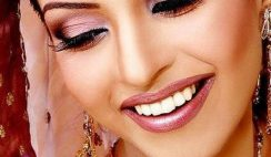 Latest Indian Bridal Eye Makeup 2015 - Brown