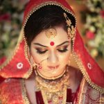 Latest Indian Bridal Eye Makeup 2015 - Golden Brown