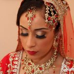 Latest Indian Bridal Eye Makeup 2015 - Golden and Smokey