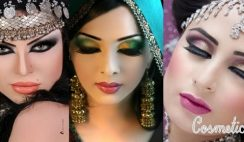 Latest Pakistani Bridal Eye Makeup 2015