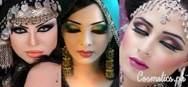 Latest Pakistani Bridal Eye Makeup Tutorials