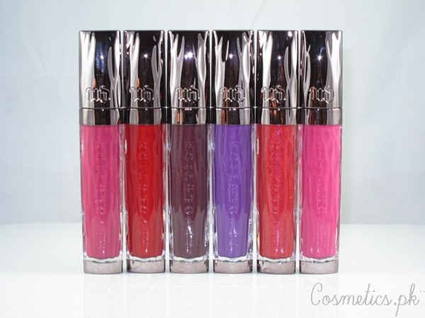 Urban Decay Lip gloss Collection 2015