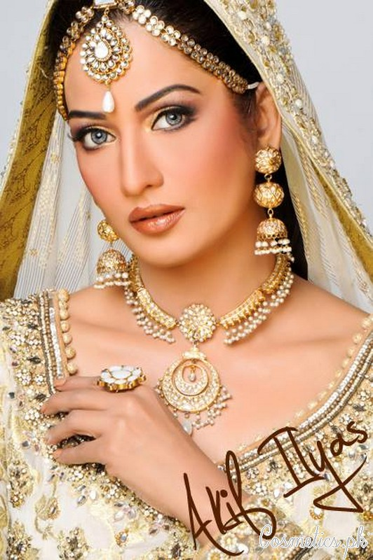 Latest Bridal Makeup By Akif Ilyas 2015