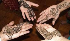 10 Easy Eid Mehndi Designs For Kids 2015