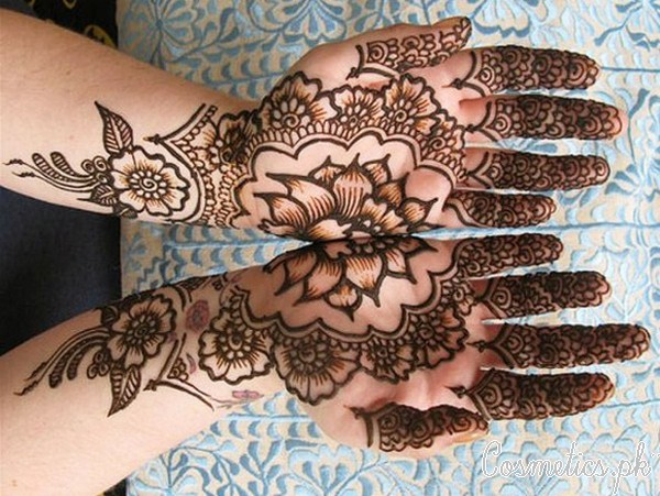 10 Beautiful Floral Mehndi Designs For Eid 2015