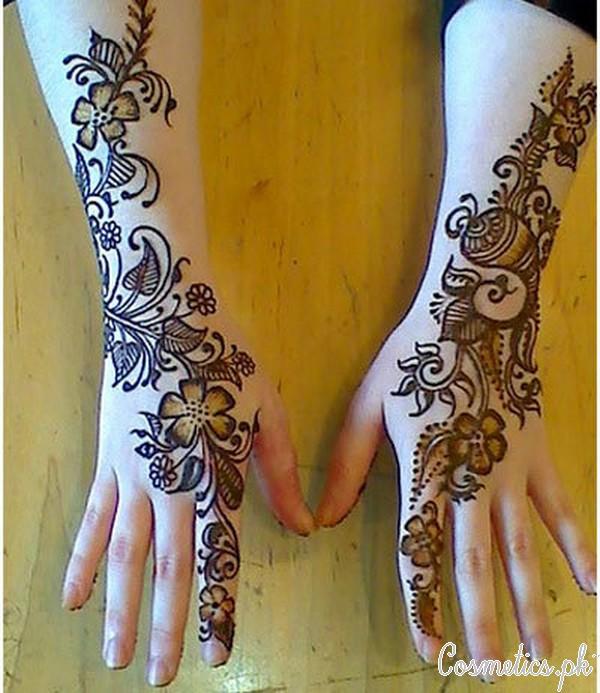Top 10 Beautiful Floral Mehndi Designs For Eid And Diwali