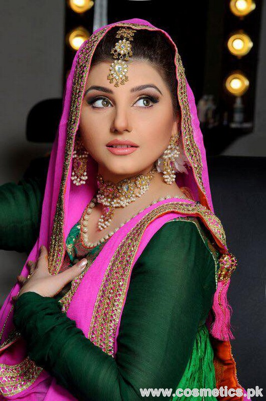 Makeup Artist Wajid Khan - Bridal Photo Shoot