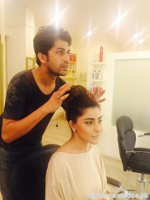 Makeup Artist Wajid Khan